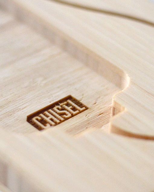 CHISEL-4-iPhone-Dock-logo-engraved
